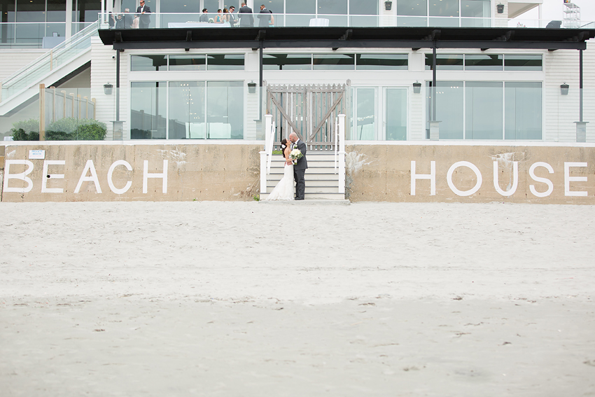 Ceremony and reception took place just next door at the Newport Beach House, Rhode Island.