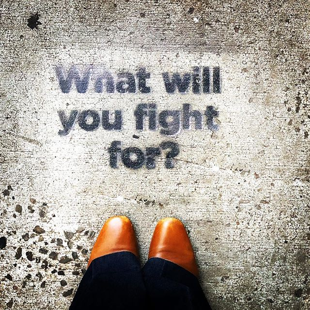 What WILL YOU fight for? What will you fight for even if it doesn't affect you personally? What will you willingly give up your conveniences for? What do you value enough to exchange your time for? It could be #blacklivesmatter, the upcoming election, #TimesUp or the way people of color and varying sexual orientation are treated across the world. It could be for mental health, to end human trafficking, education for all, women's rights, net neutrality, the right to love and be with whomever you choose that is of age, and so on.  With the best #intention fight for something good and positive. Fight for something that will improve the lives of #humans. Even though it may not affect you, your kin, or your friend, it's an issue that will affect a fellow # human.  #RegisterToVote #MondayMotivation #WhatWillYouFightFor  #BelieveSurvivors #Activism