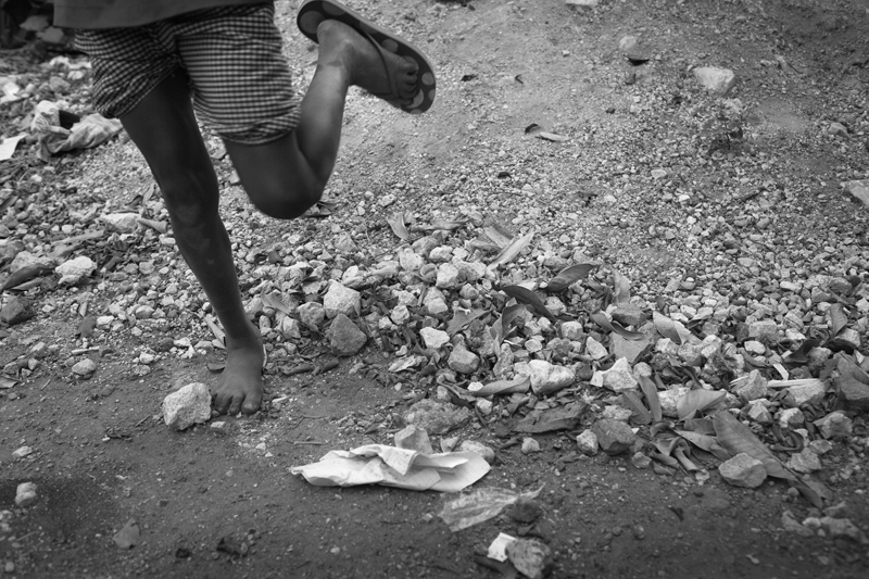 Shoe. Trenchtown, Jamaica. 2011.