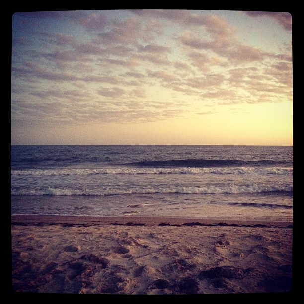 St George Island sunset (Taken with  instagram )