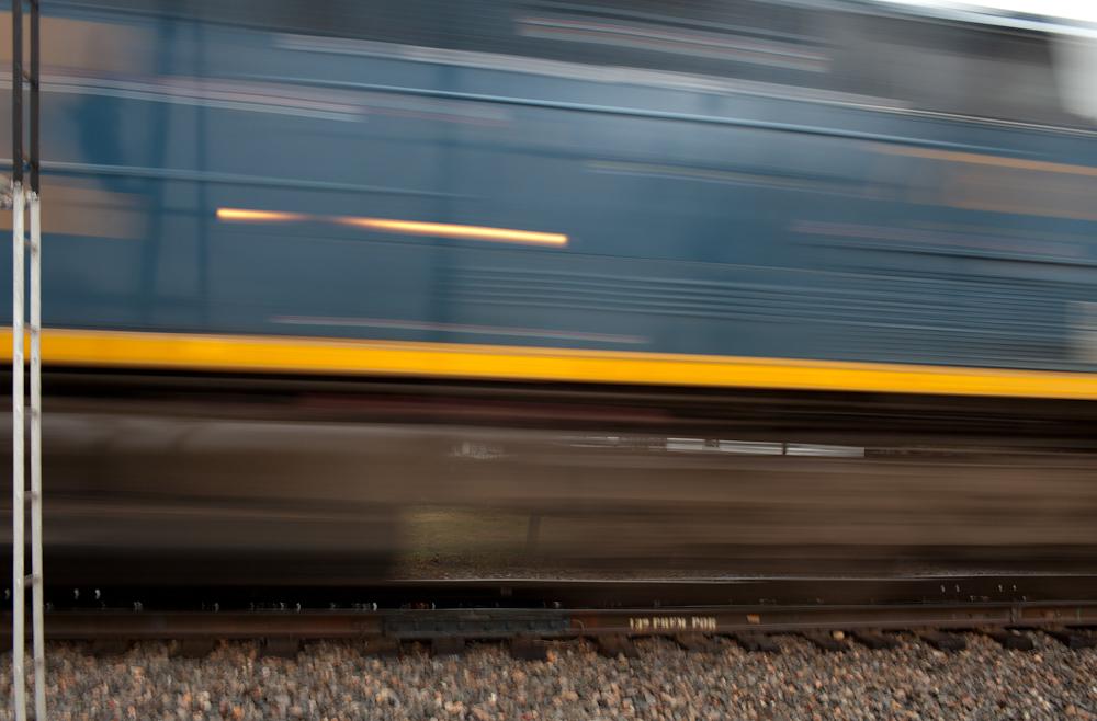 Train, Cowan. November, 2011.