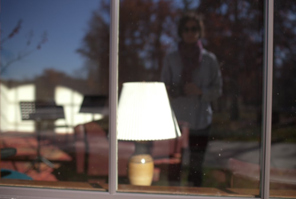 Reflection, Lamp. November, 2011.