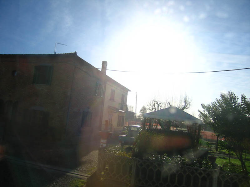another photo by Luca, outside Cortona, Italy. Spring 2010. Can you believe the light?