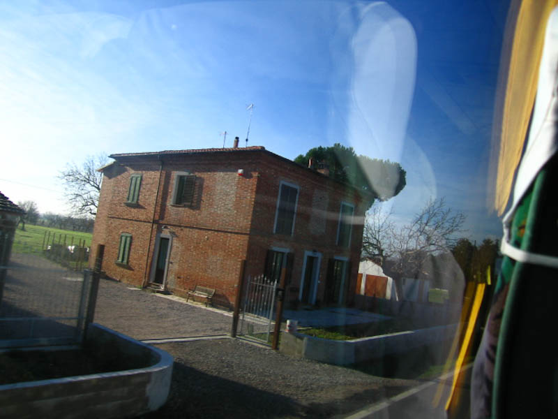 a photograph by Luca, outside Cortona, Italy. Spring 2010.