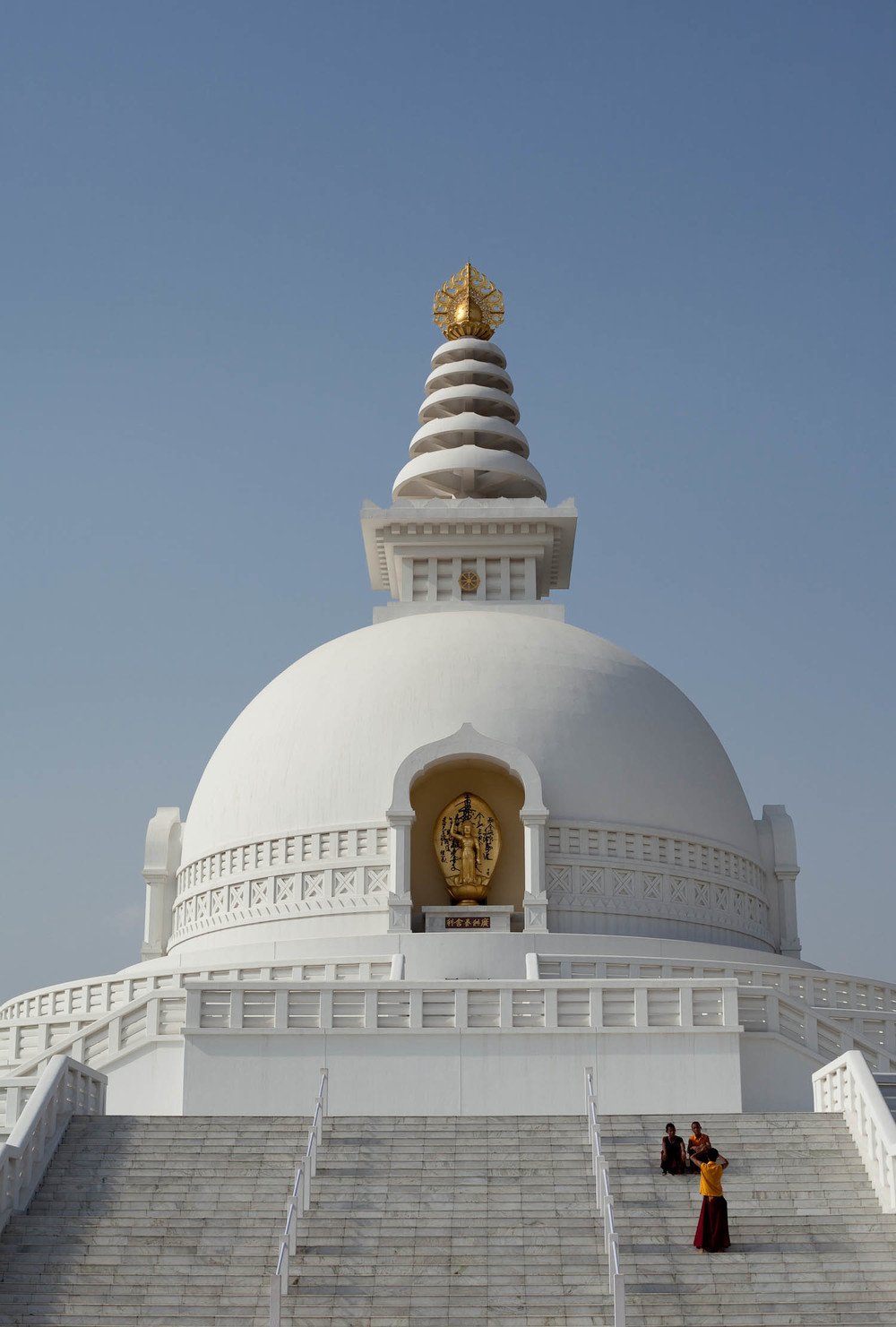 Peace-Pagoda-buddhist-monks-white-lumbini-nepal-asia-travel