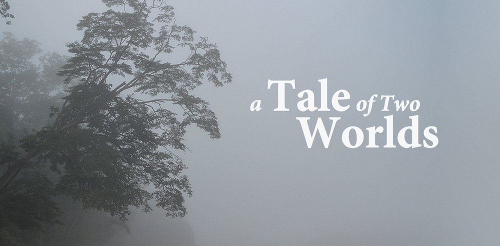 A Tale of Two Worlds is a project that was completed by Barnaby Ward, Jack Nesbit & Reuben Smith for a 400 level science fiction paper at Massey University Wellington.