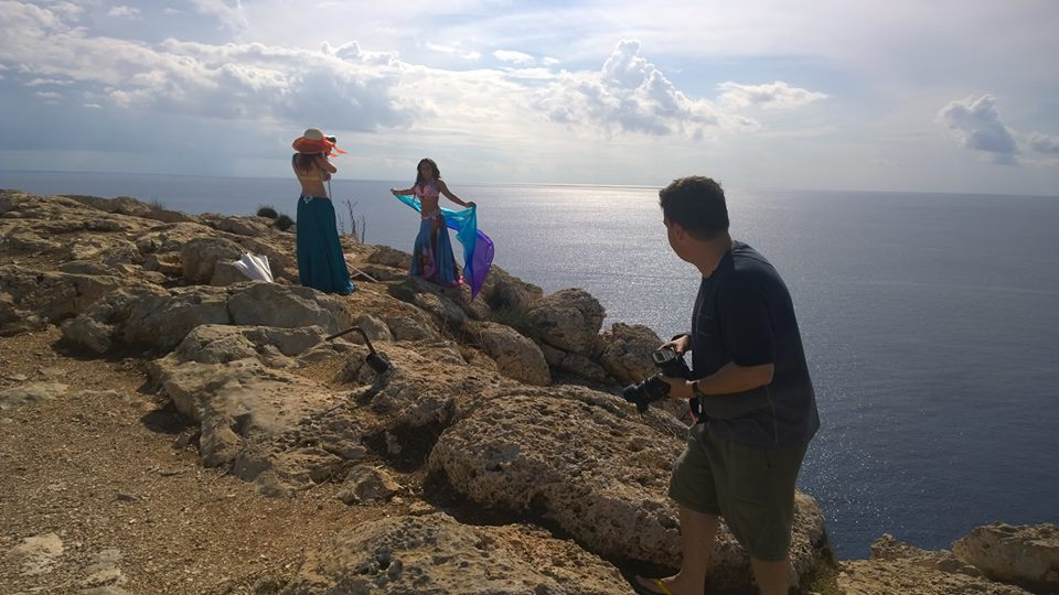 Shooting in Cyprus for 'The Orientalist'. Photo by Olesha Astman.