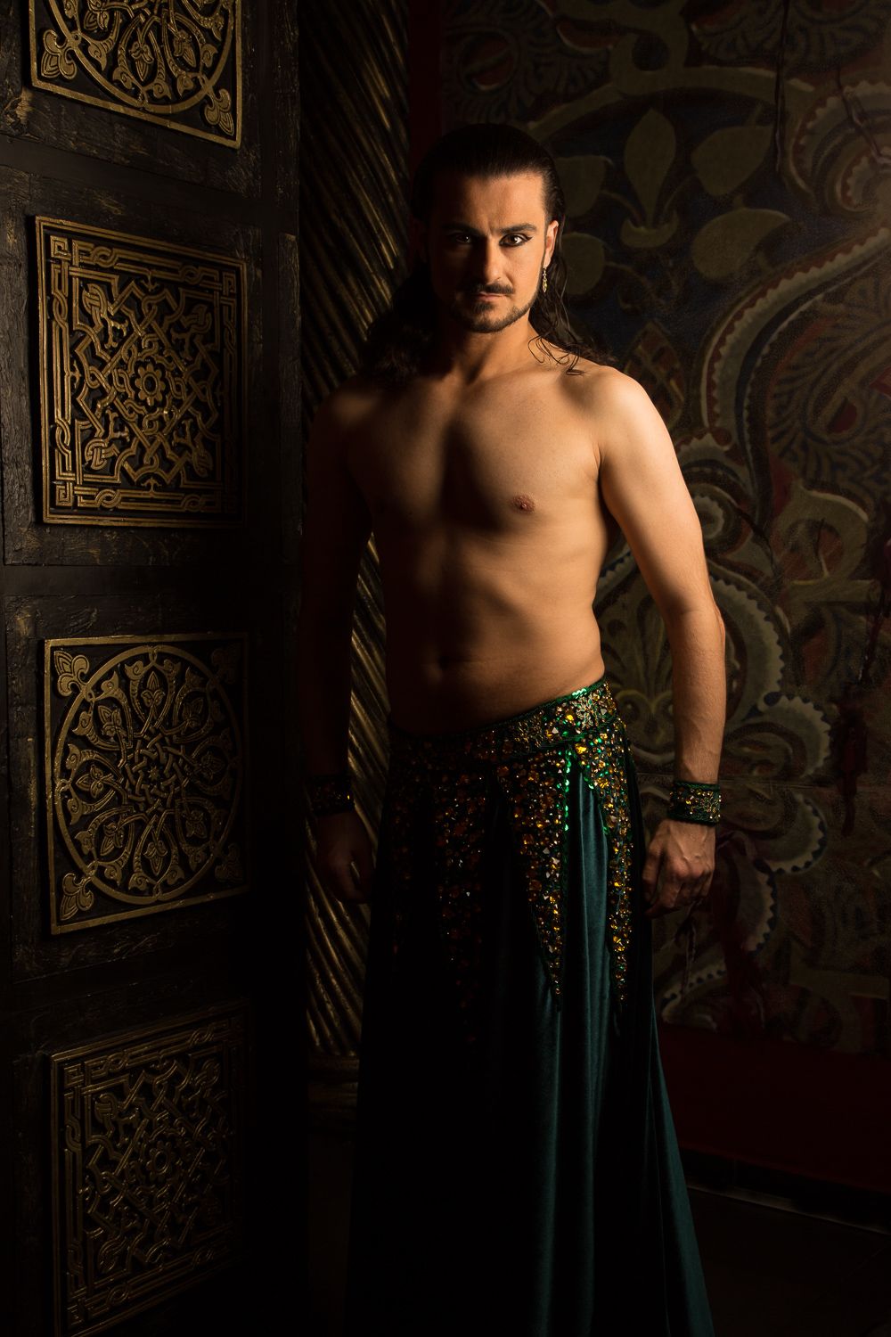 Erhan Ay, photographed at the Victoria Spa, in Sofia, Bulgaria