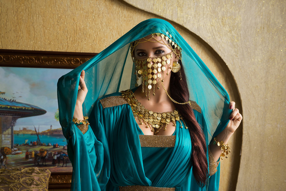 Dancer Dalilah Lopes, photographed for The Orientalist in Brasilia, Brazil.