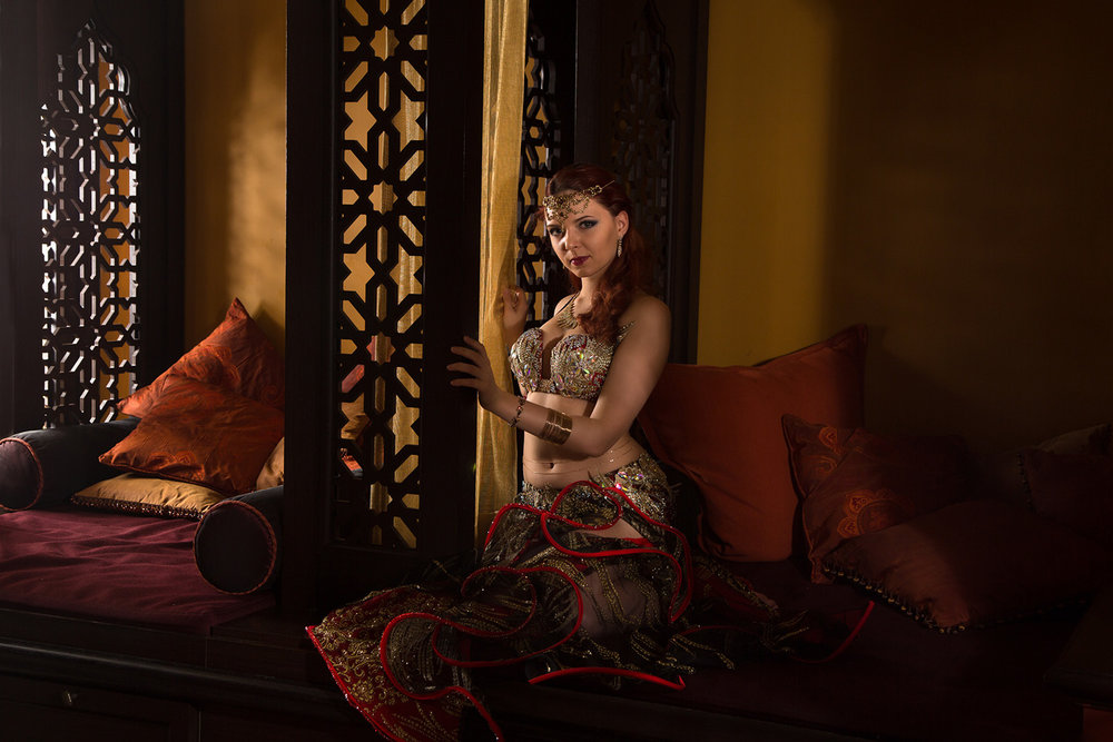 Dancer Iana Komarnytska photographed for The Orientalist series in Toronto, Canada