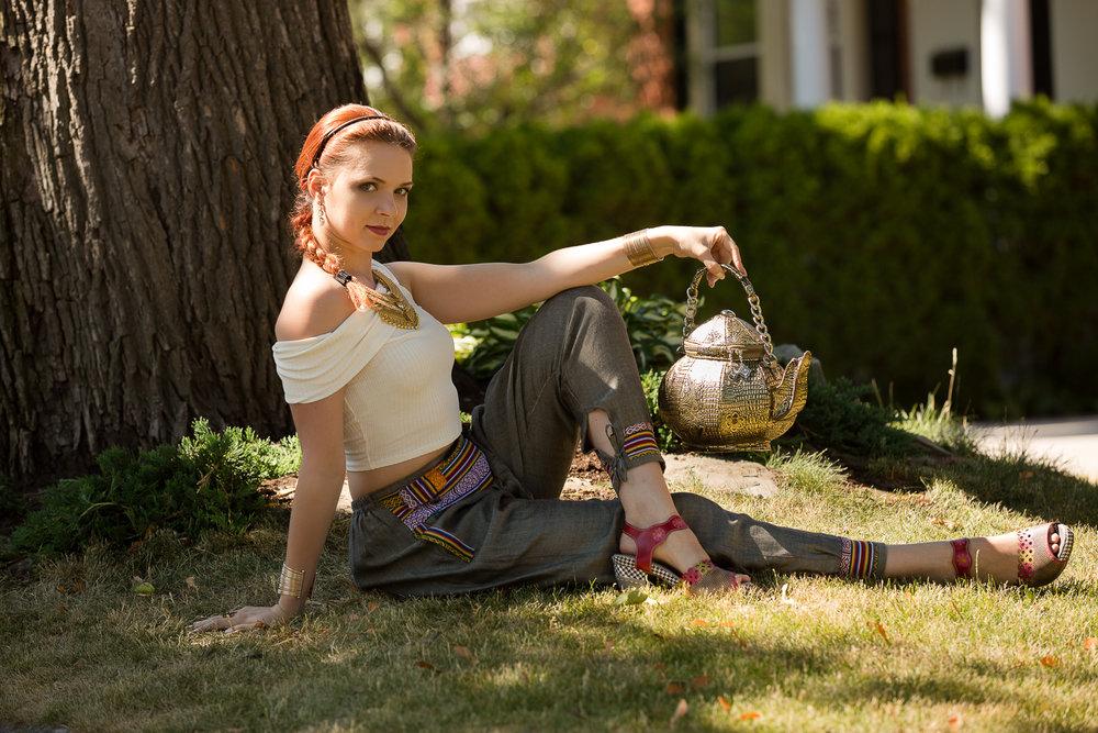 Iana Komarnytska  Oriental Fashion