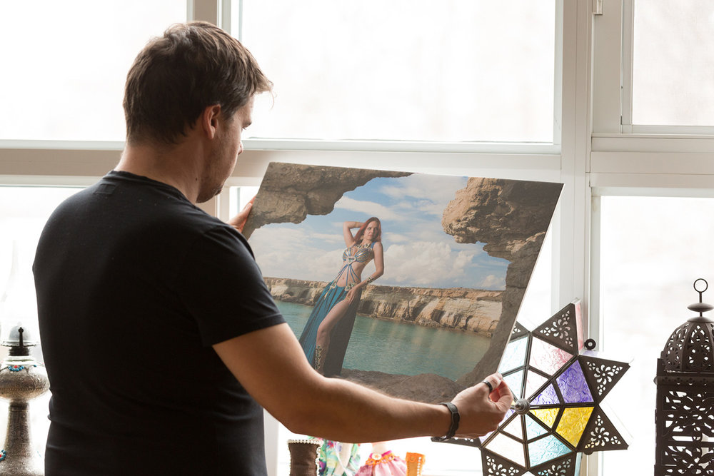 Fine art print store -