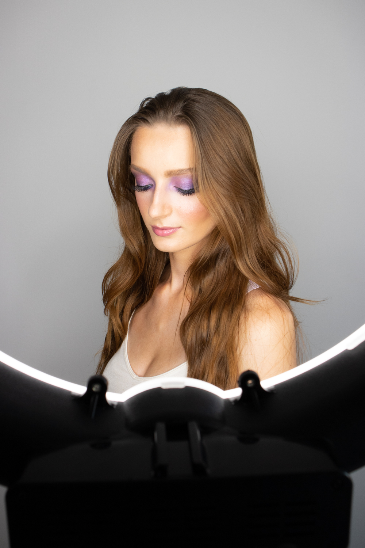 Make up by  Victoria Khanlari