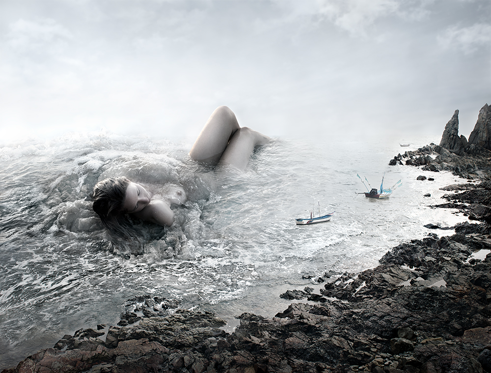 Close to Shore, by Alice Zilberberg.