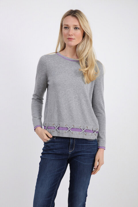 181319 grey h / lavender ice h