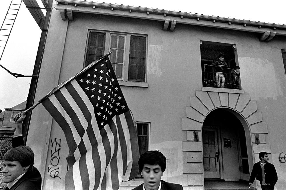 Peace March, 1986. L.A.