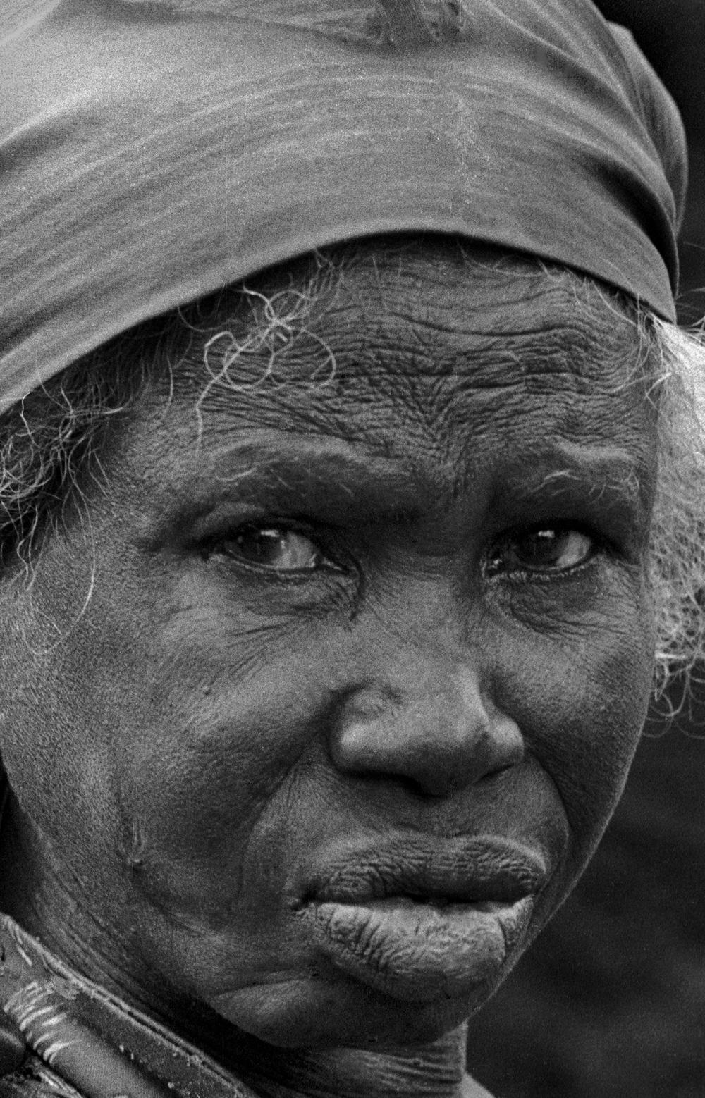 Kenyan peasant woman