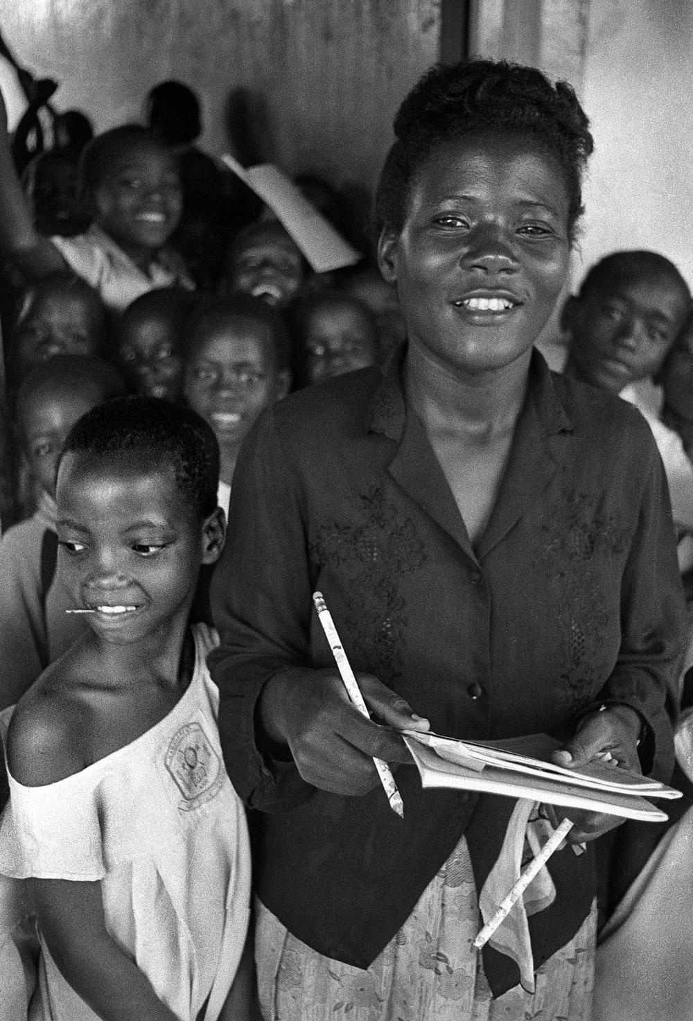 Primary school, Kampala, Uganda