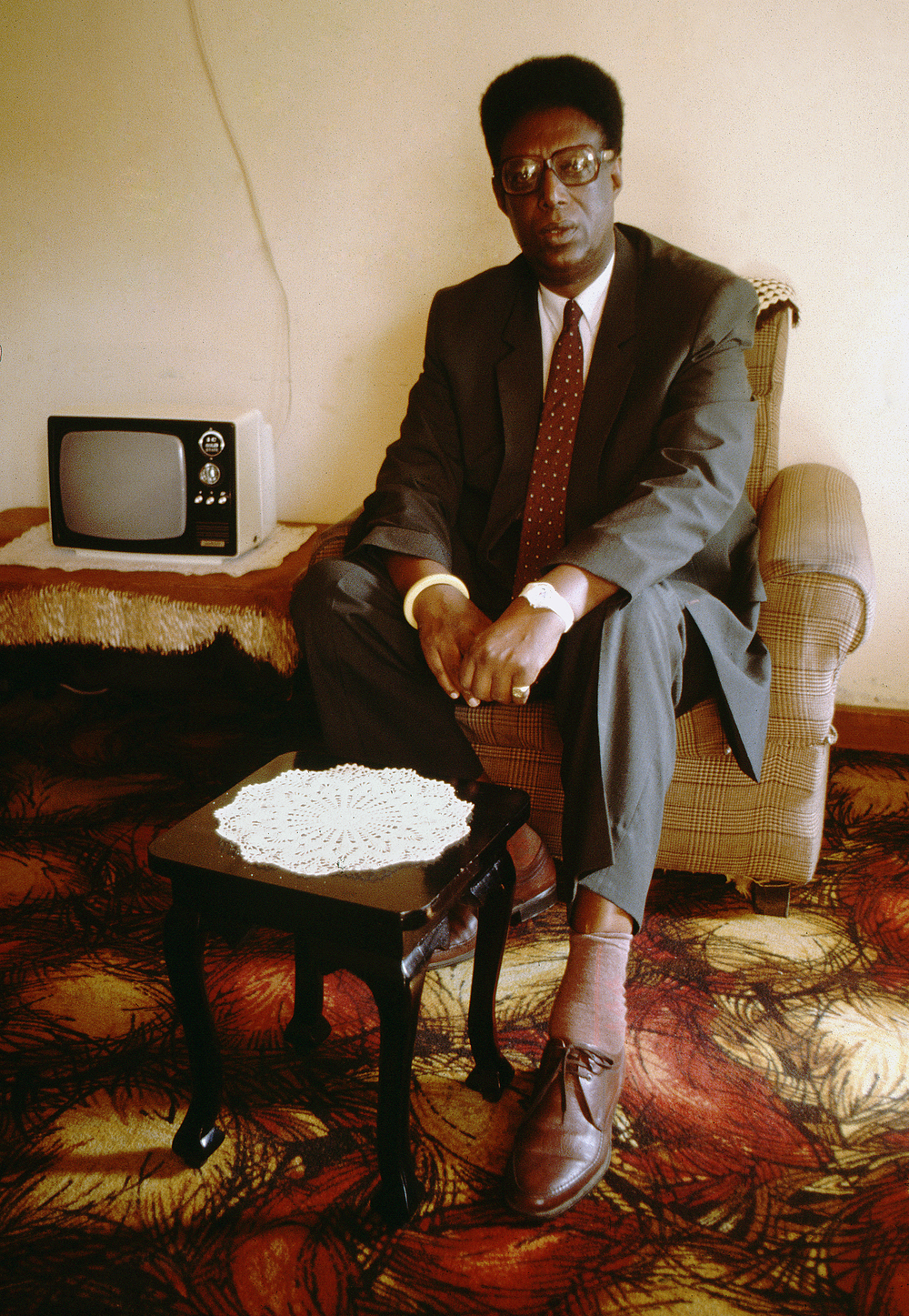 Exiled Tutsi monarch Kigeli, Nairobi