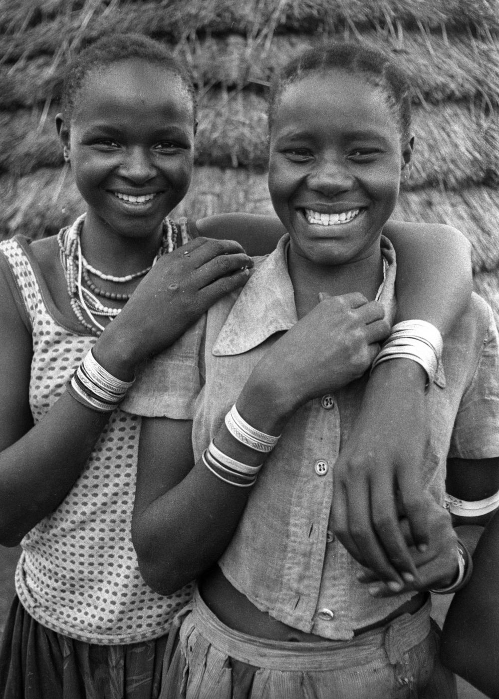 Karamojong girls, Namalu, Uganda