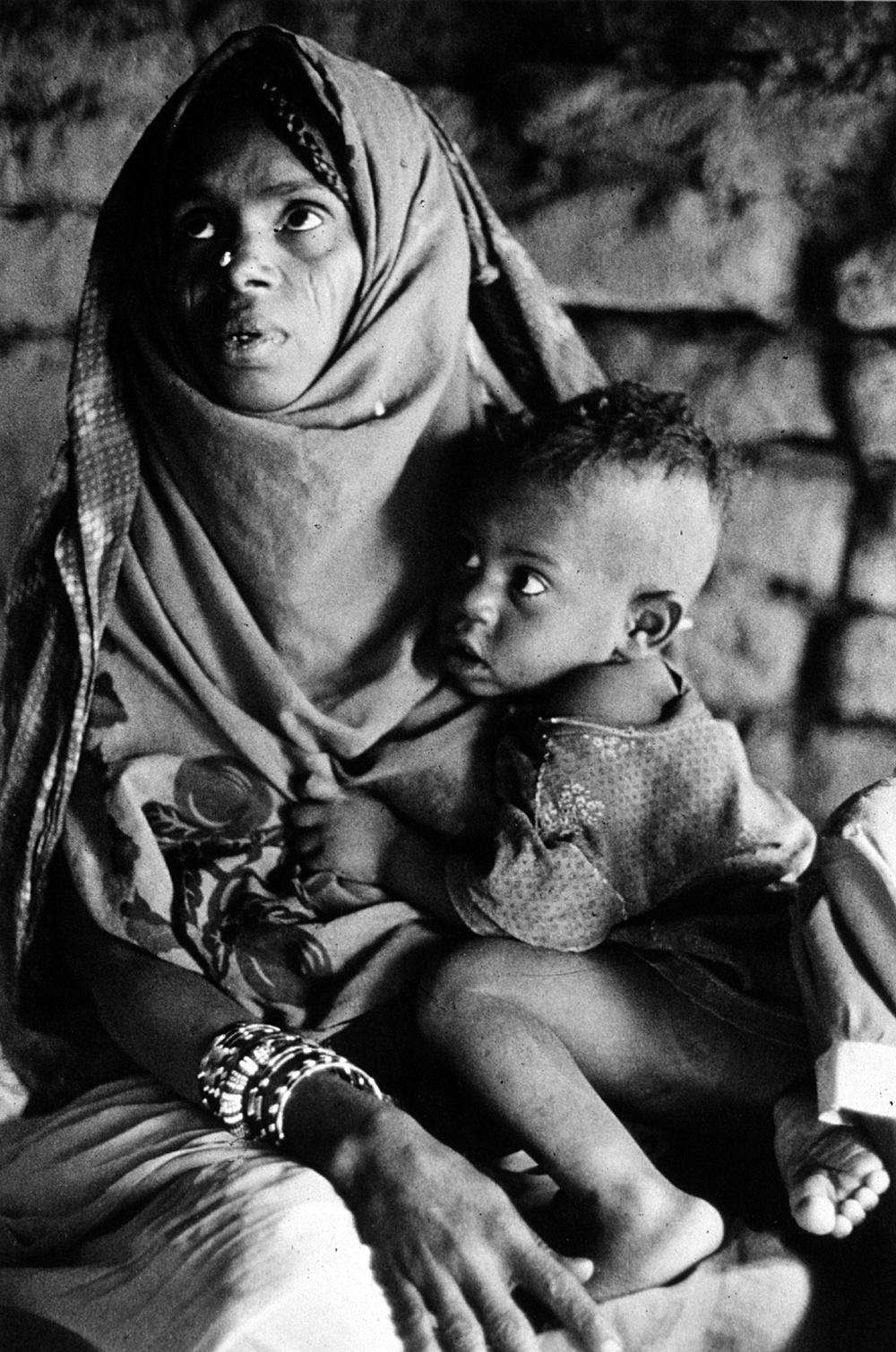 Eritrean refugees, Khashm el Girba, Sudan.