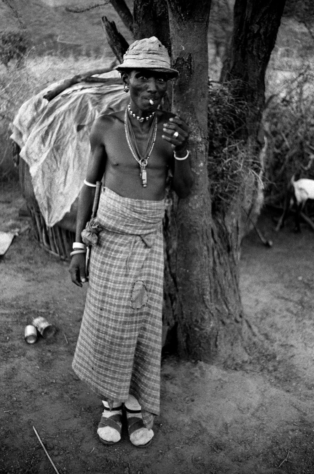 Rendille tracker, Marsabit, Kenya