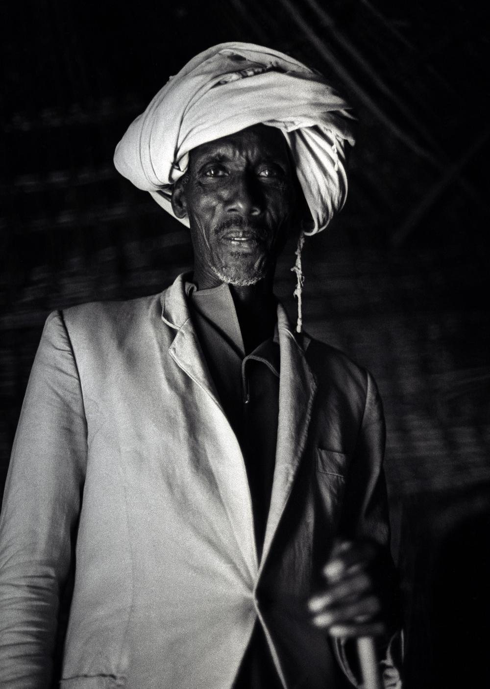 Gabbra elder, Sololo, Kenya