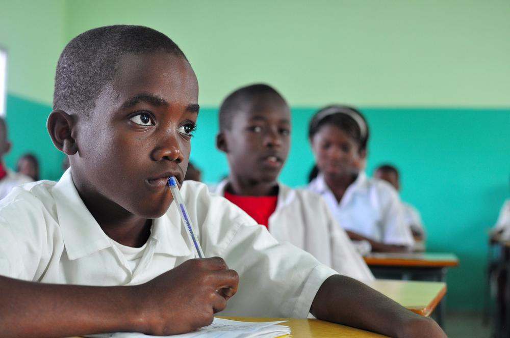 Angolan classroom