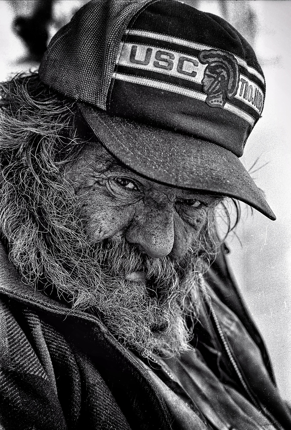 Bob, homeless in Van Nuys CA, 1984