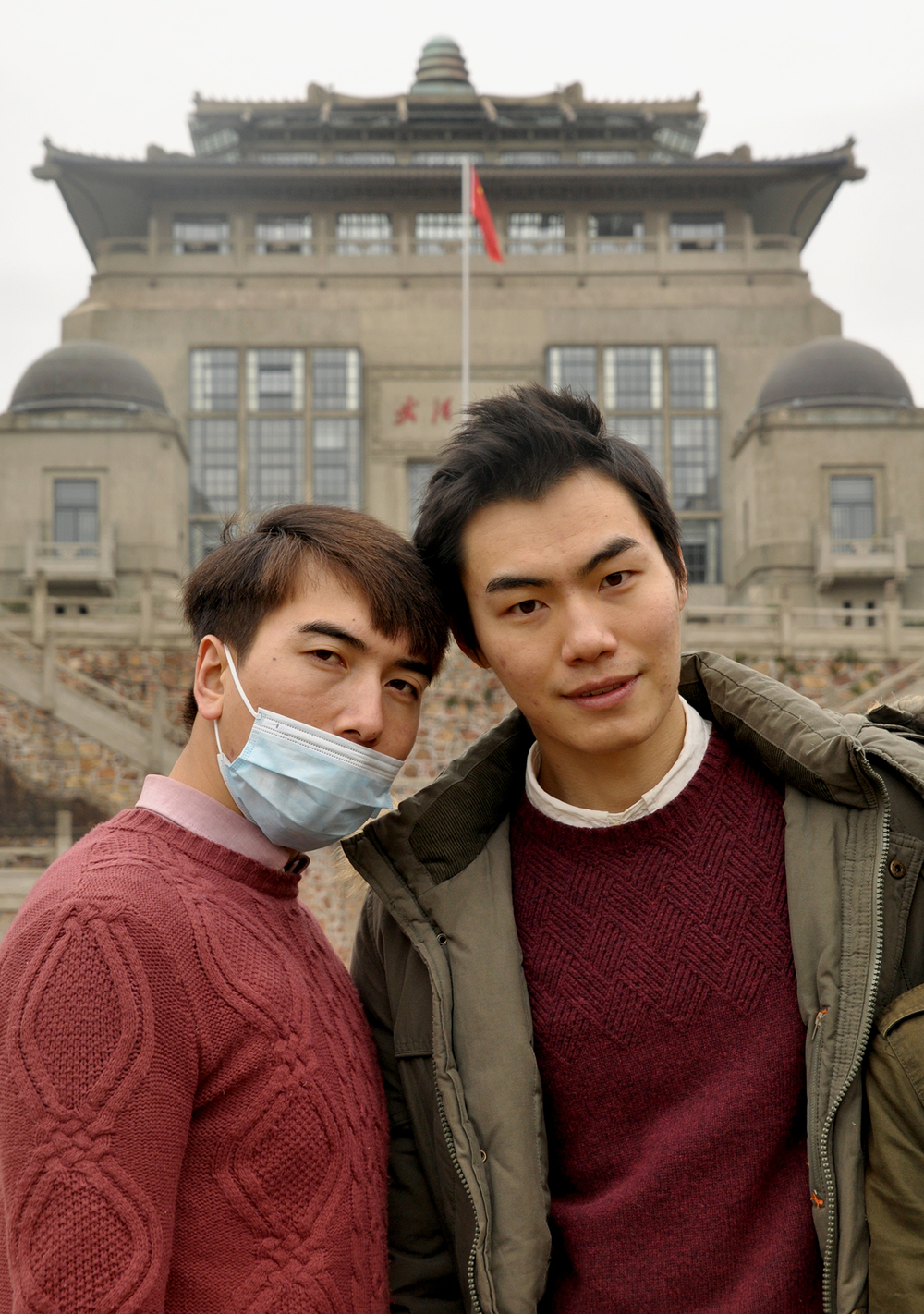 Wuhan University students, 2015