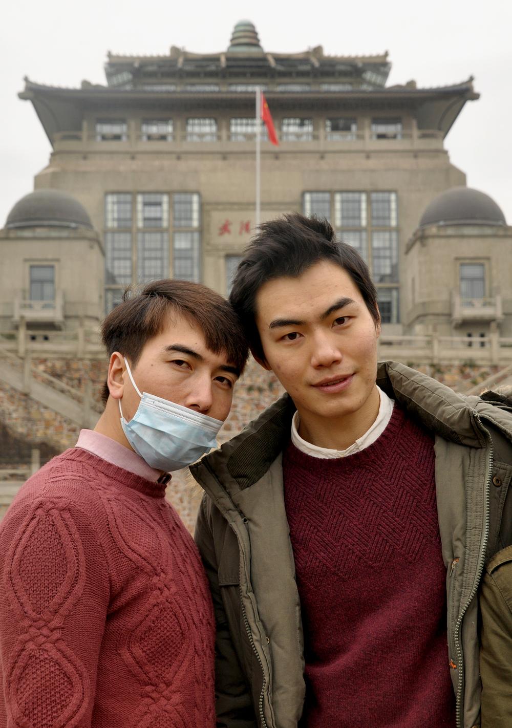Wuhan University students
