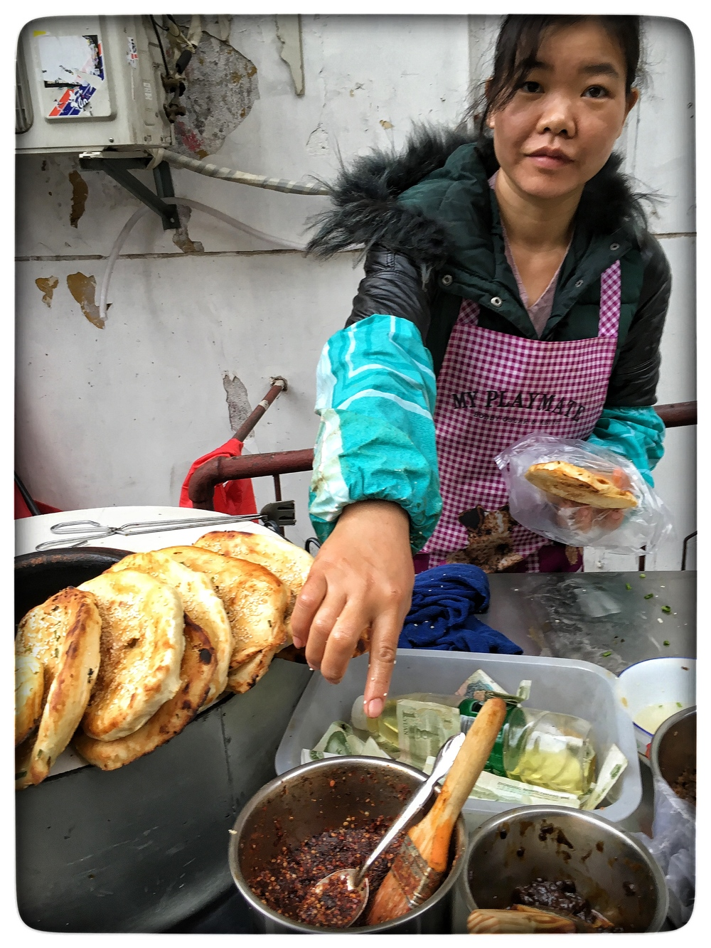 Street food vendor, Wuhan