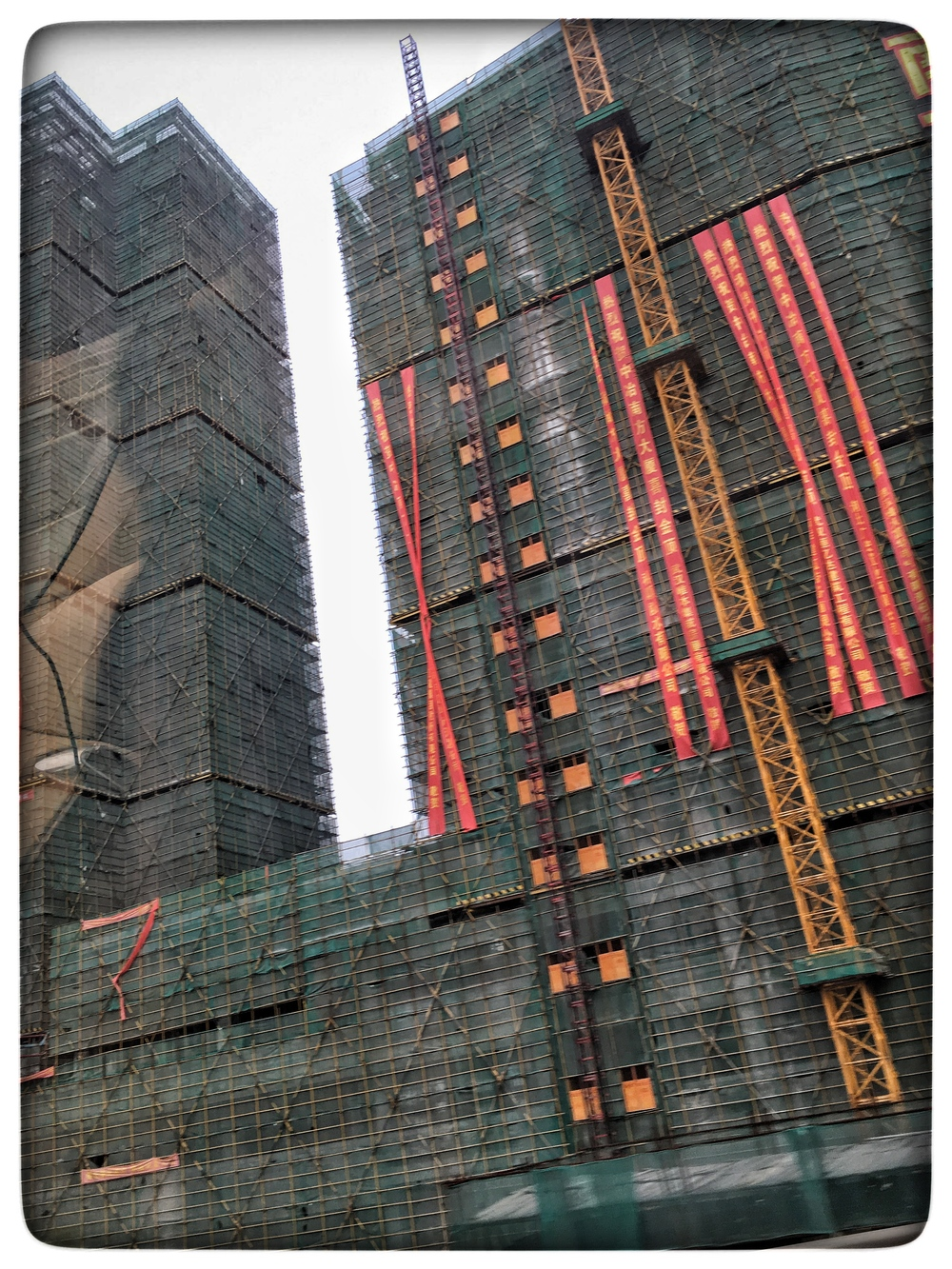 Unfinished buildings, Wuhan