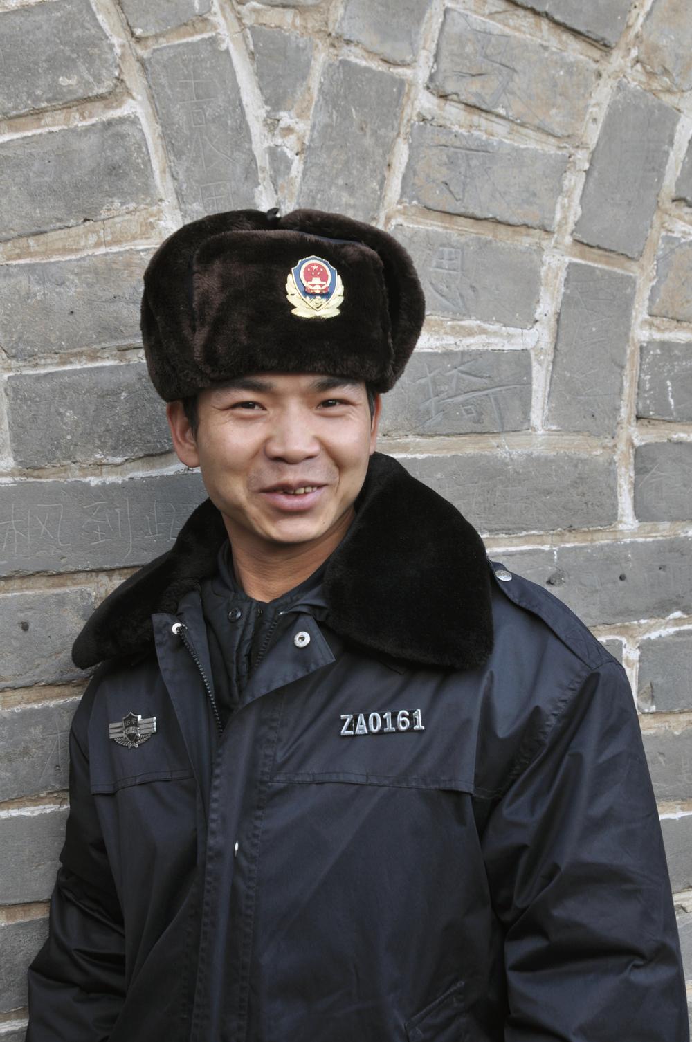 Guard, Great Wall of China