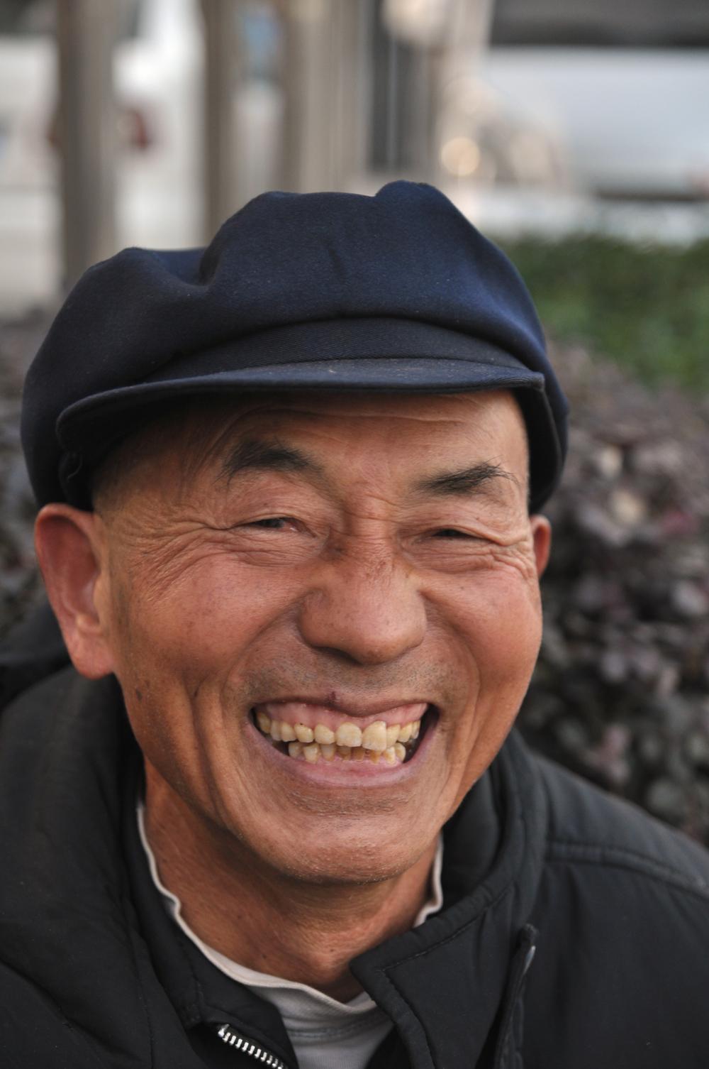 Street vendor, Wuhan