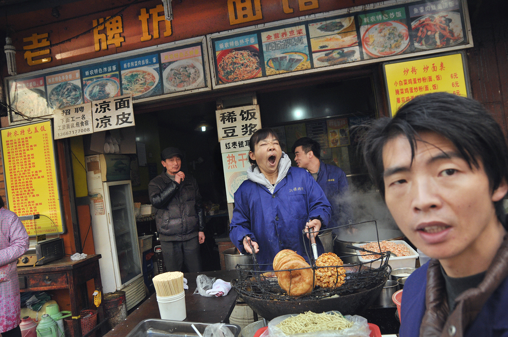 Wuhan street vendors