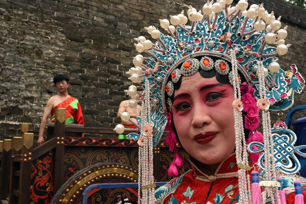 Han Ju Opera performer, Jingzhou