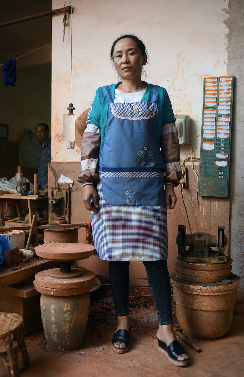 Purple pottery apprentice, Jianshui 2017
