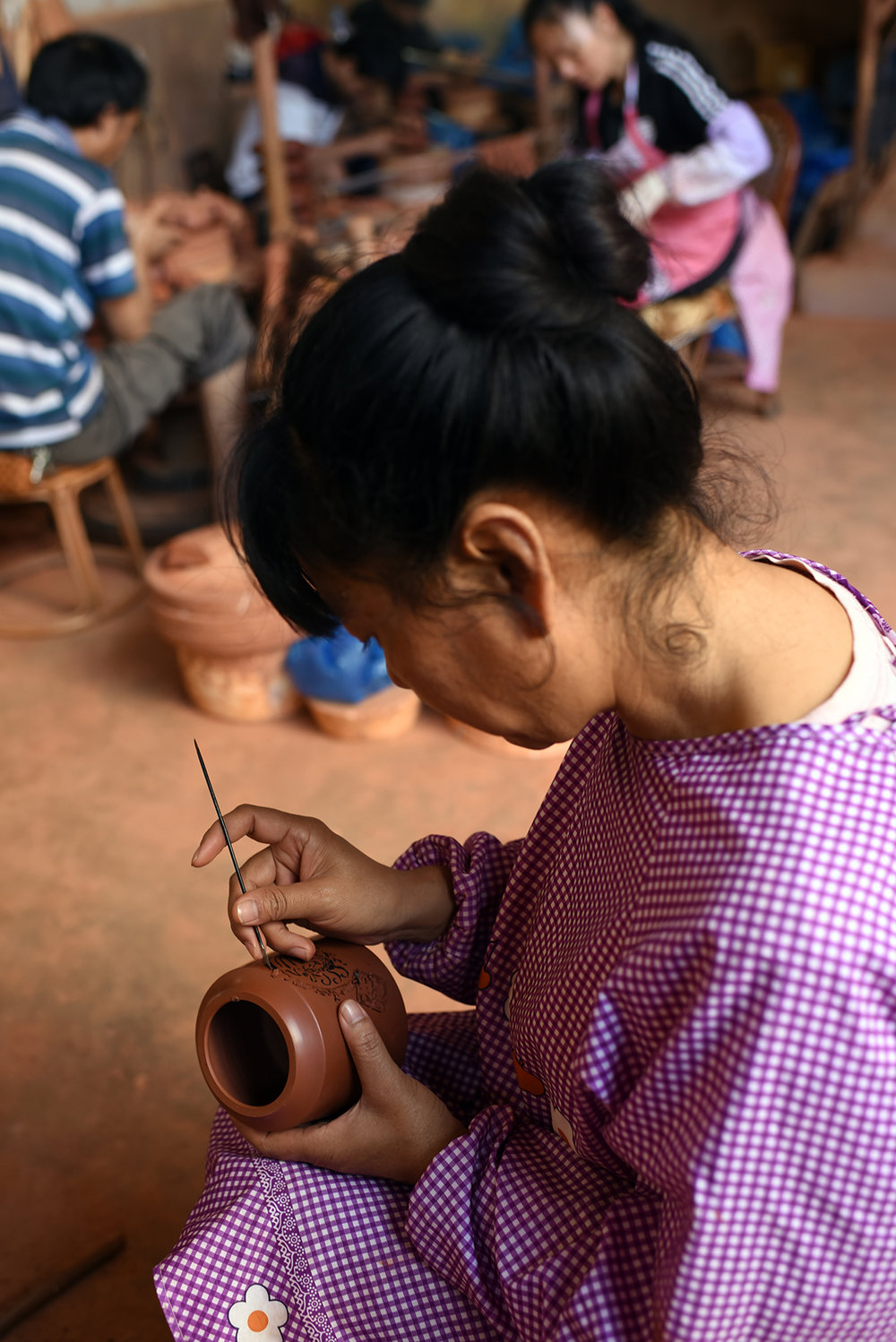 Purple pottery apprentice, Jianshui