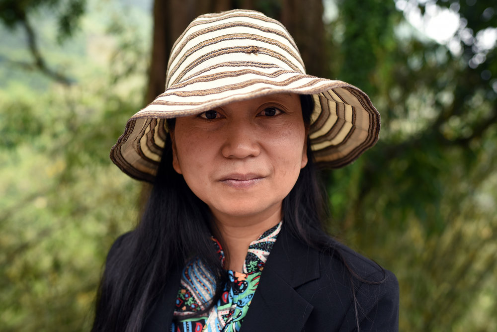 Lili, governor of Potuo village, Yunnan, 2017