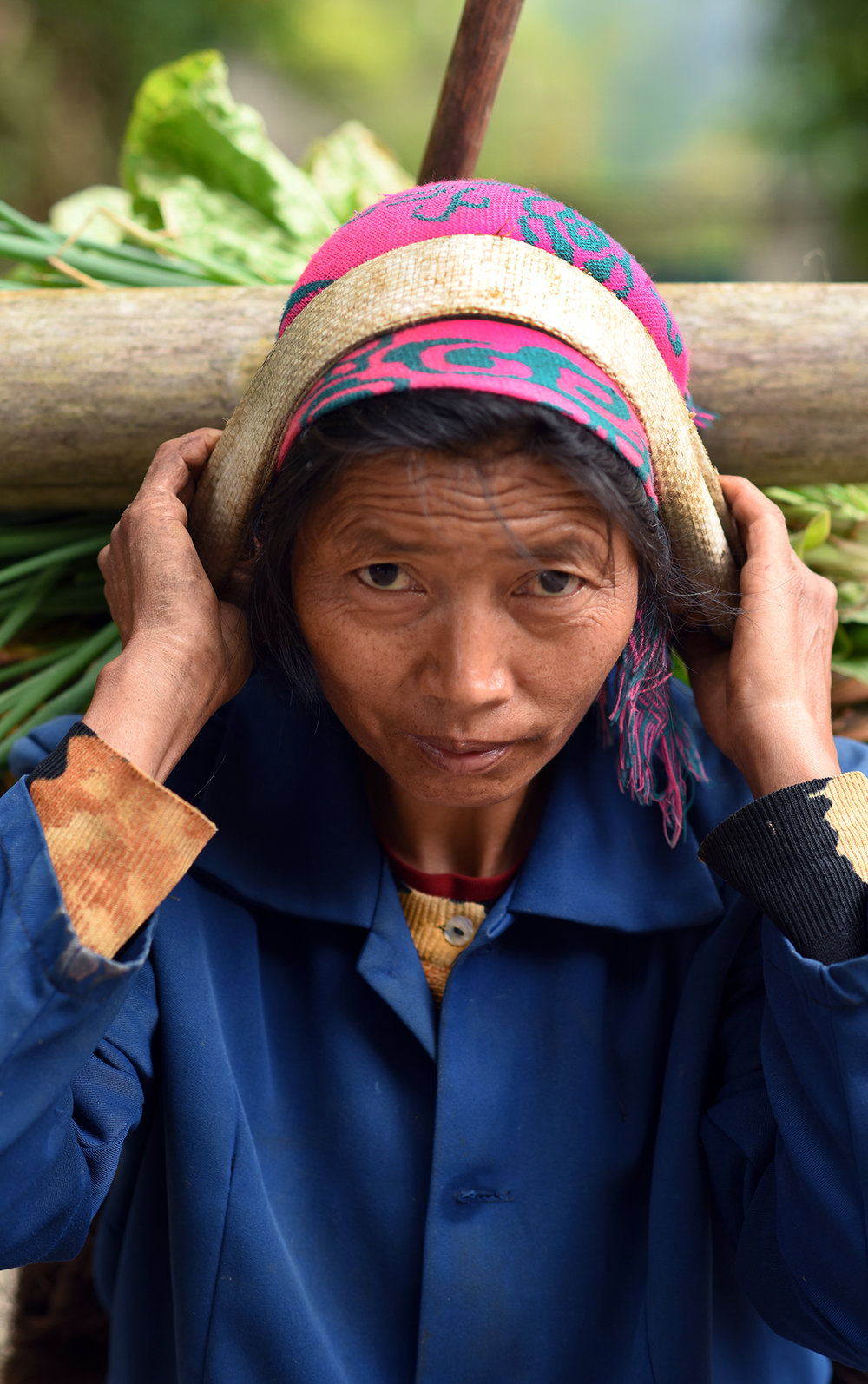 Farmer, Potuo village 2017