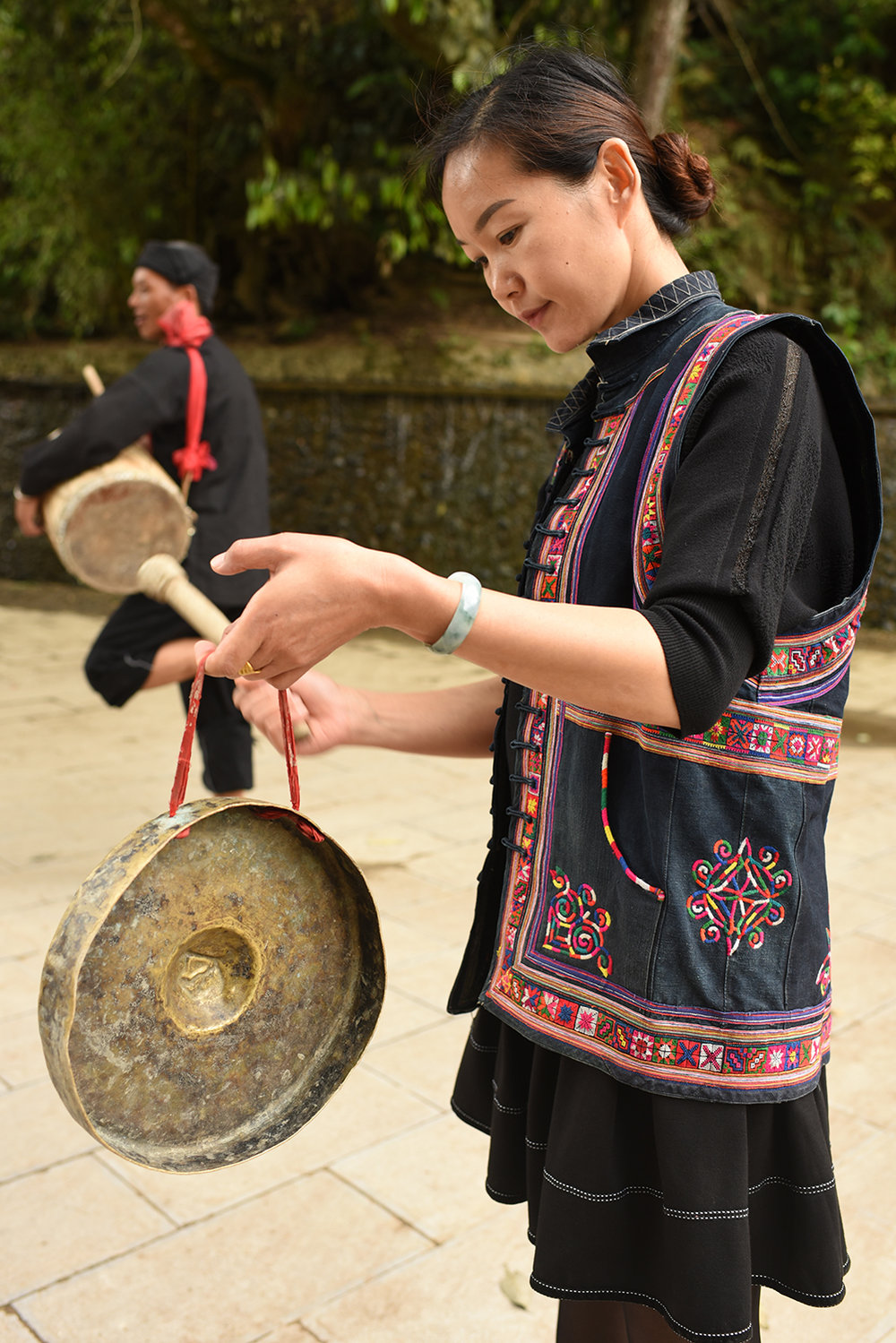 Mang Drum Dance. Potuo village, Yunnan, 2017.