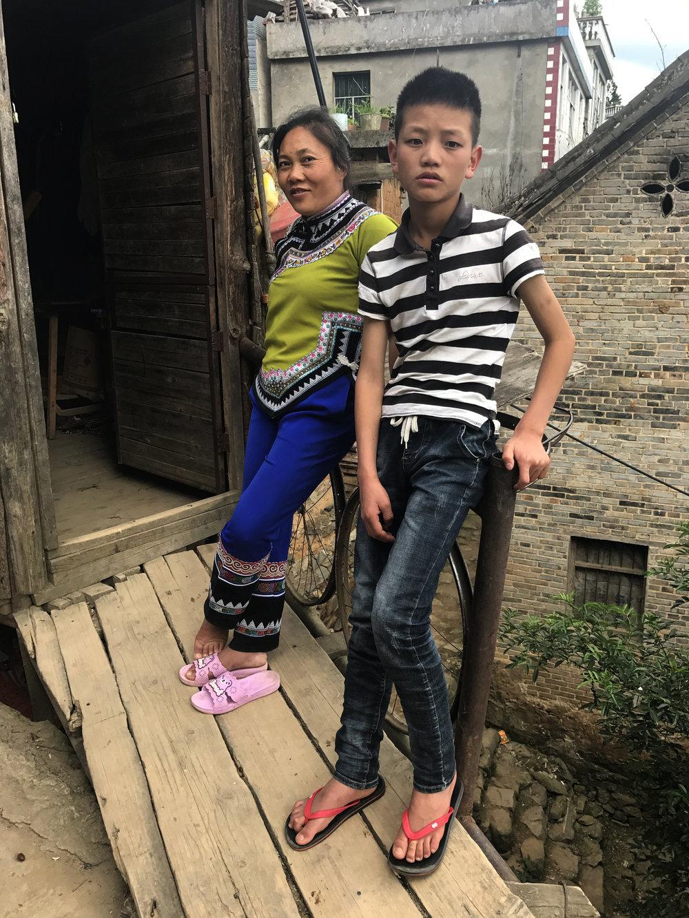 Dieshi village, Yunnan, 2017.