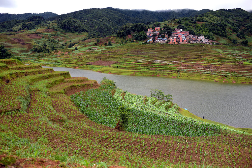 Terraced farmlands of Yunnan