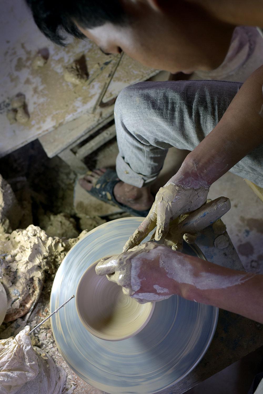 Hua Ning pottery, Wan yao village