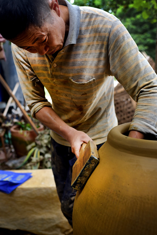 Pottery apprentice