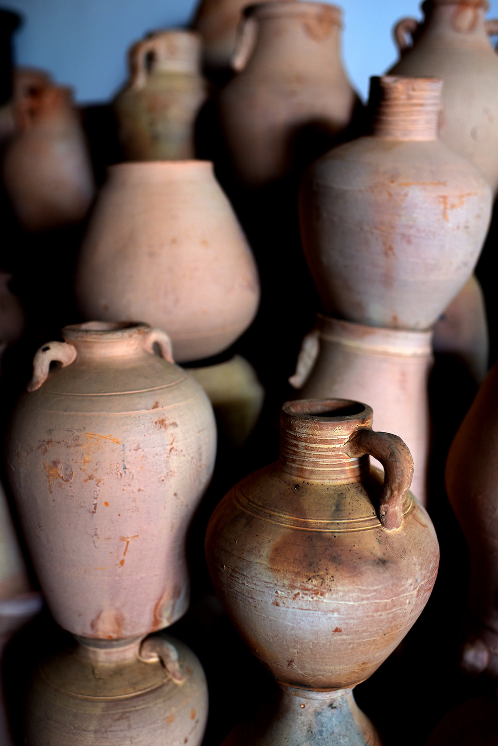 Pottery of Xia Yugu, Inheritor of ICH pottery, Cao Shi village, Jingzhou