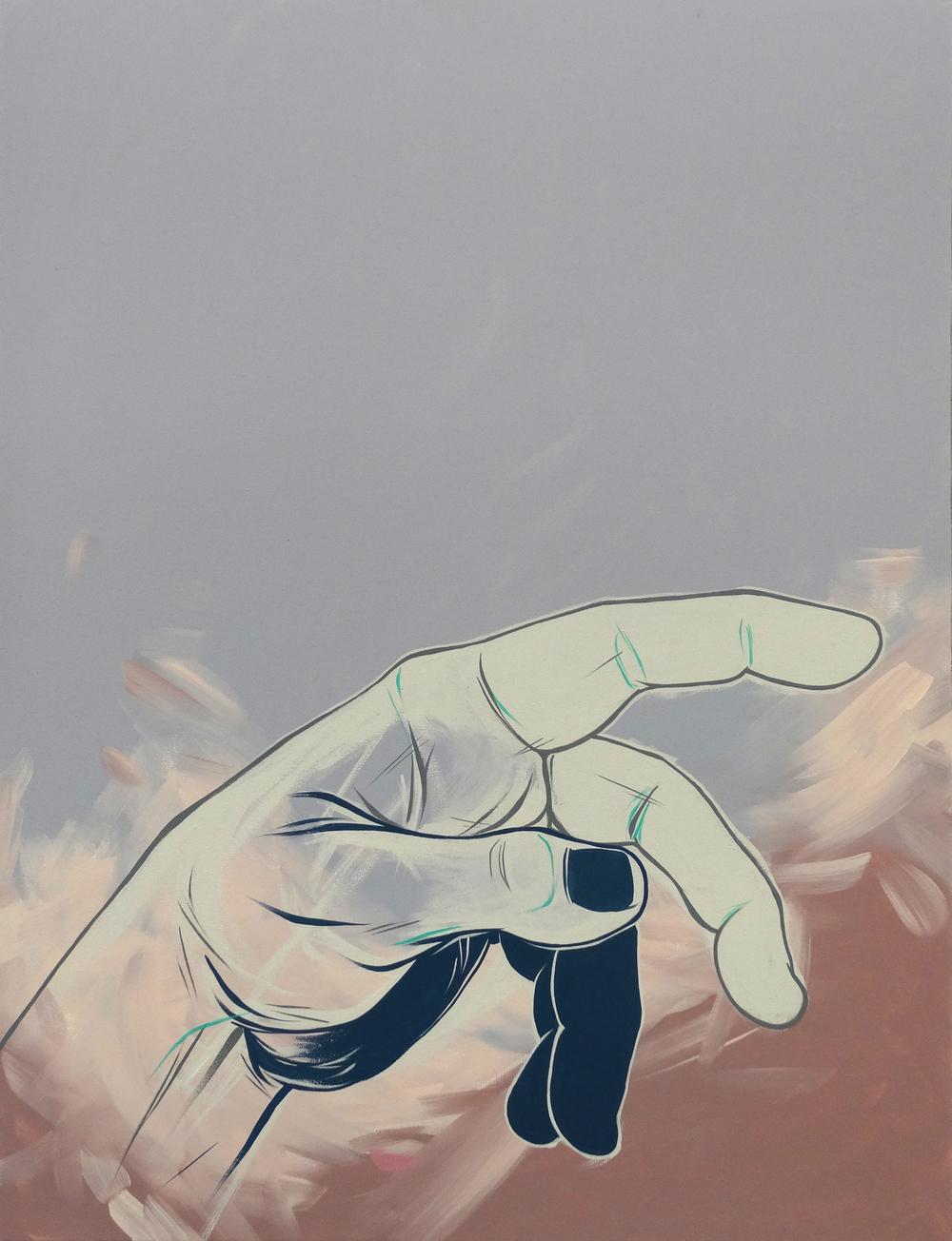 """Within Reach  30"""" x 40""""Acrylic on Canvas  $ 1500"""