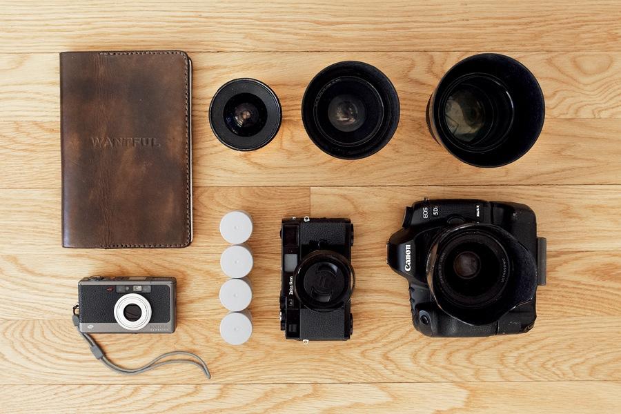 Photo gear of Collin Hughes