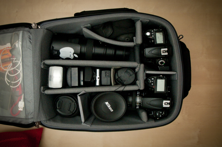 Photographic gear of Brian Hirsh